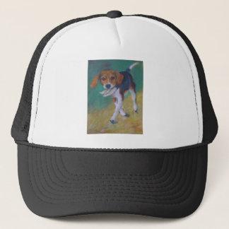 活発な犬 キャップ
