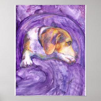 活発な犬:  沈痛な子犬 ポスター