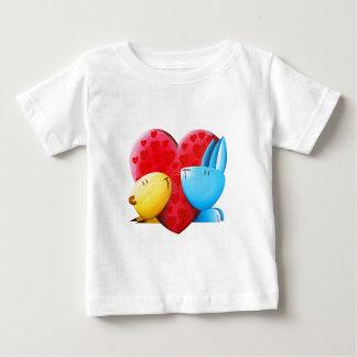 「活発な♥は失敗しました ベビーTシャツ