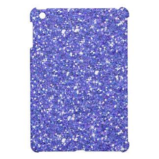 派手なブルーベリーのグリッター iPad MINI CASE