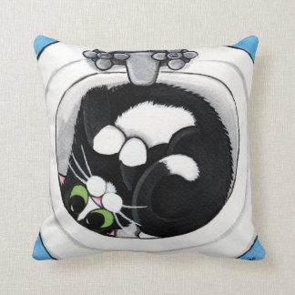 流しの装飾用クッションのタキシード猫 クッション