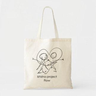 流れのバッグ-愛イラストレーション トートバッグ