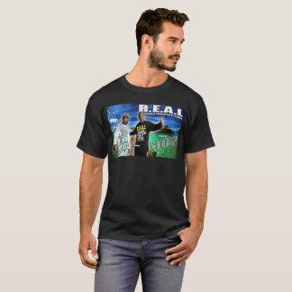 流れのTシャツのR.E.A.Lの芸術 Tシャツ