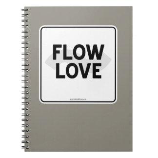 流れ愛 ノートブック