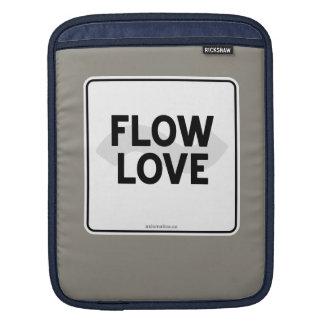 流れ愛 iPadスリーブ
