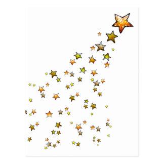 流れ星 ポストカード