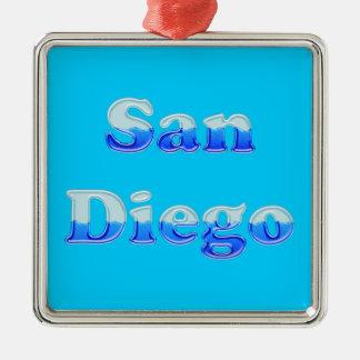流動サンディエゴ-水の… メタルオーナメント