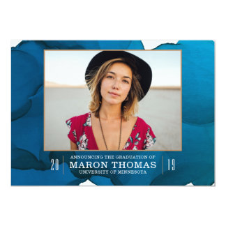 流動卒業の発表 カード
