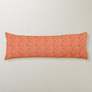 流星および彗星のオレンジの抱き枕 ボディピロー
