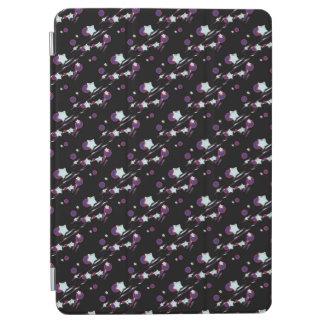 流星および彗星の黒いタブレットカバー iPad AIR カバー