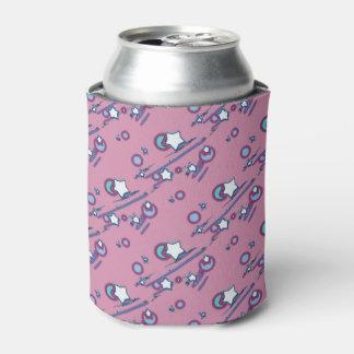 流星および彗星ピンクビール袖 缶クーラー