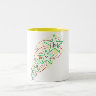 流星のマグ ツートーンマグカップ