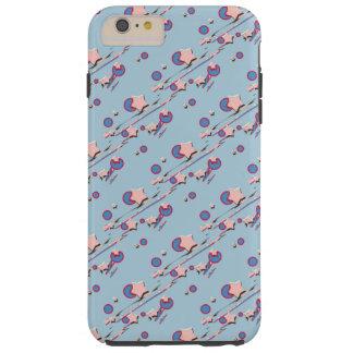 流星及び彗星の淡いブルーの携帯電話の箱 TOUGH iPhone 6 PLUS ケース