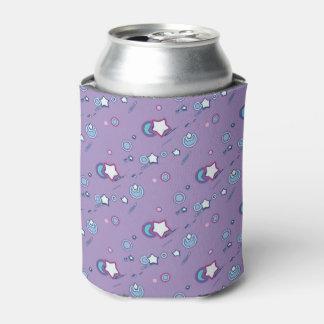 流星及び彗星パステル調の紫色ビール袖 缶クーラー