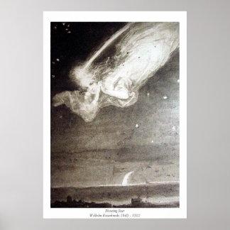 流星-ウィルヘルムKotarbinski ポスター