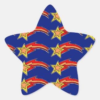 流星 星シール