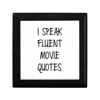流暢な映画引用文を話して下さい ギフトボックス