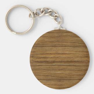 流木のカシ木穀物の質の一見 キーホルダー