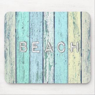 流木のビーチ マウスパッド
