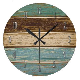 流木の柱時計 時計