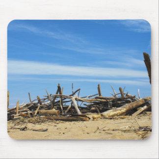 流木の海岸 マウスパッド