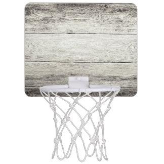 流木の背景 ミニバスケットボールゴール