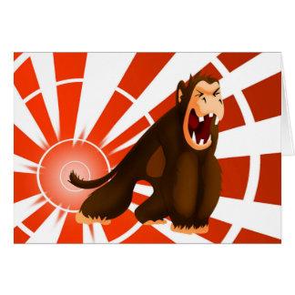 流血の猿カード カード