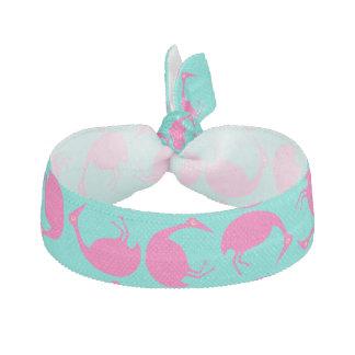 流行のレトロのスタイルの転落のピンクのフラミンゴAq ヘアタイ