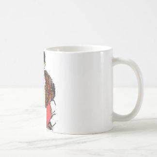 流行の女性 コーヒーマグカップ