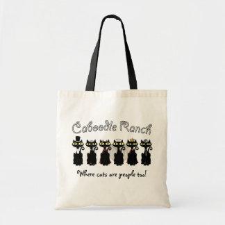 流行の猫科の動物のバッグ トートバッグ