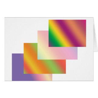 流行仕掛け人: 波の積み重ねの芸術の買物のニュース カード