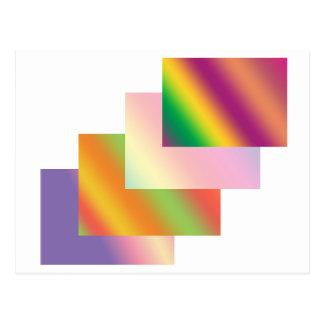 流行仕掛け人: 波の積み重ねの芸術の買物のニュース ポストカード
