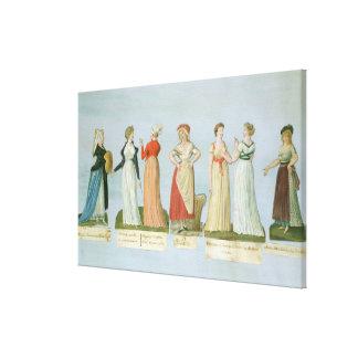 流行服およびコスチューム キャンバスプリント