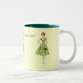 流行1957年 ツートーンマグカップ