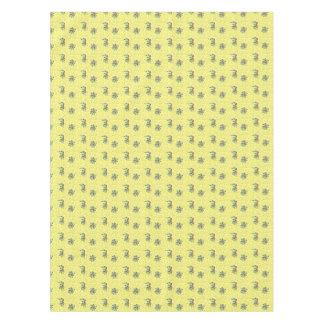 浅い黄色上がりました テーブルクロス