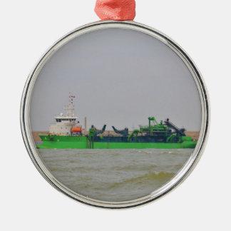 浚渫船の勝利者Horta メタルオーナメント