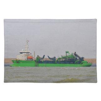 浚渫船の勝利者Horta ランチョンマット