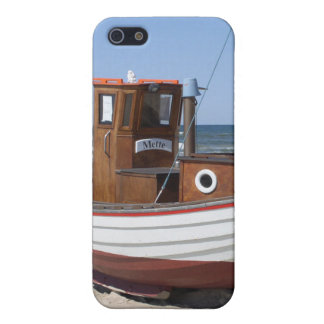 浜の木の漁船 iPhone 5 CASE