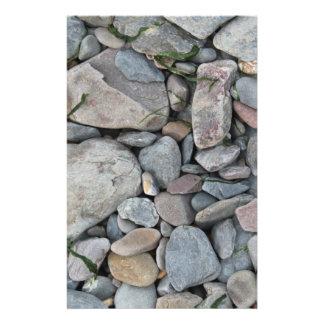 浜の石の写真 チラシ