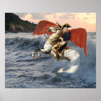浜のCthulhu Bonaparte ポスター