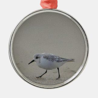浜鳥のアートワーク メタルオーナメント