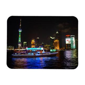 浦東新区夜スカイラインの磁石 マグネット