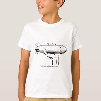 浮キ信号弾を投げること Tシャツ