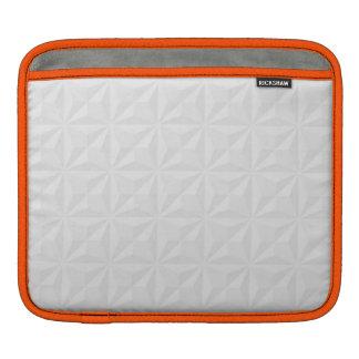 浮彫りにして下さい: オレンジ iPadスリーブ