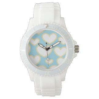 浮遊ハートの腕時計 腕時計