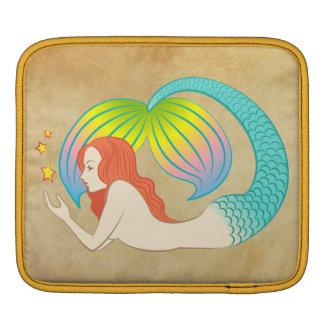浮遊星を持つ人魚 iPadスリーブ