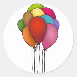 浮遊気球 ラウンドシール