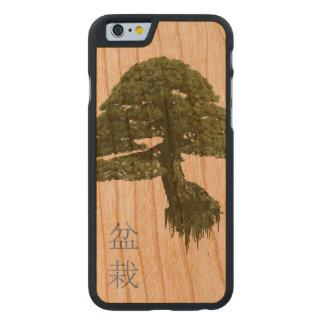 浮遊盆栽の木の木製のiPhone6ケース(さくらんぼ) ケース