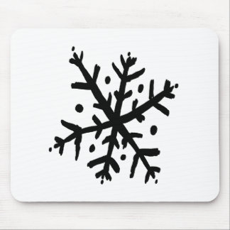 浮遊雪片02 - nd マウスパッド