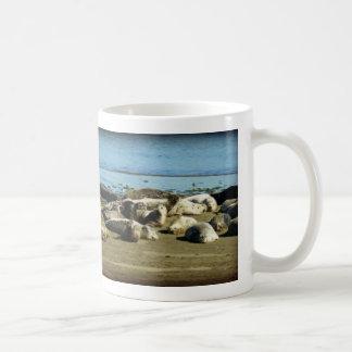 浴するシール コーヒーマグカップ
